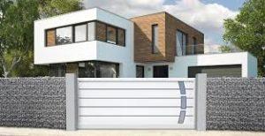 Portails, portillons et clôtures en PVC